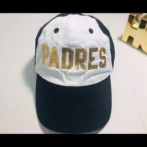 Pink Victoria's Secret PADRES baseball Cap